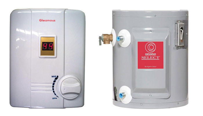 Professional Hot Water System Kallista