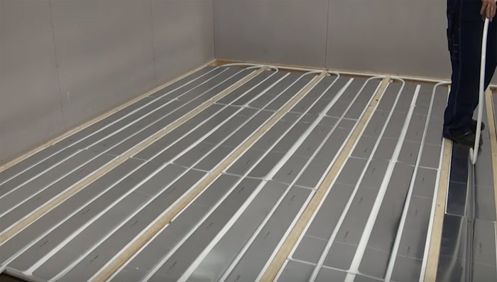 Hydronic Heating Black Sands