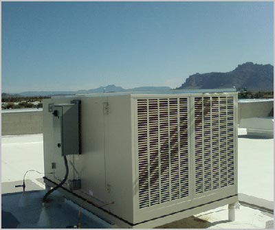 Evaporative Cooling Mount Duneed
