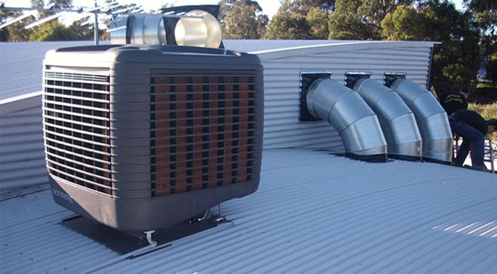 Amazing Evaporative Cooling Elwood